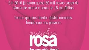 Outubro Rosa: tempo de prevenção