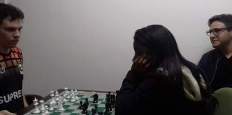 Jogos Universitarius 2017 - Treino de Xadrez