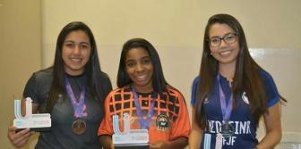 Jogos Universitarius 2017 - Suprema � campe� no Xadrez feminino