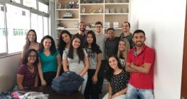 Reuni�o com estudantes do curso de Fisioterapia da Suprema